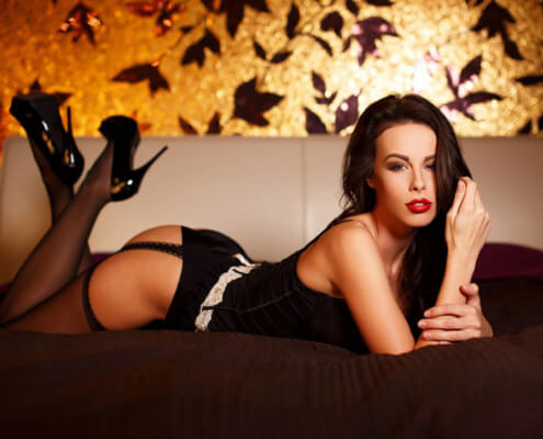 Las Vegas Escort Service | Annabel Laying Down Photo | Girls Direct To You