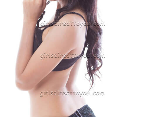 Gorgeous Brunette Escorts Las Vegas | Kim Side View Picture | Girls Direct To You