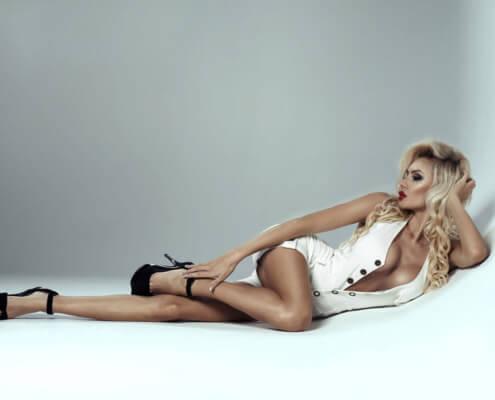 Las Vegas Escorts | Bianca Laying Down Picture | Girls Direct To You