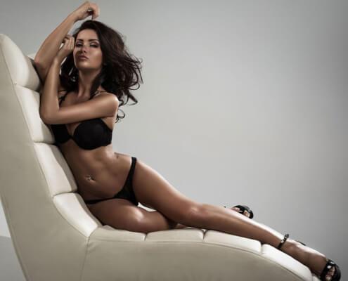 Las Vegas Escorts | Katrina Lounge Black Lingerie Photo | Girls Direct To You