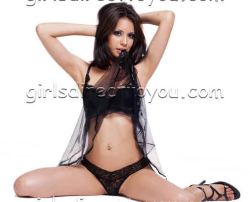 Las Vegas Strippers | Kendra Splits Black Panties Picture | Girls Direct To You