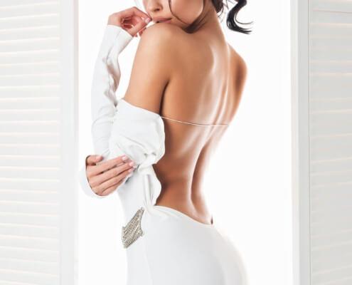 Las Vegas Stripper Escort | Ivana Bare Back Photo | Girls Direct To You