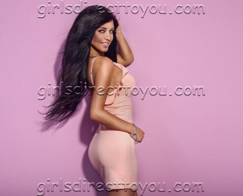 Las Vegas Call Girls   Megan Over Shoulder Photo   Girls Direct To You